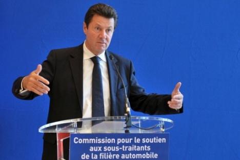 Christian Estrosi, Ministre de l'Industrie